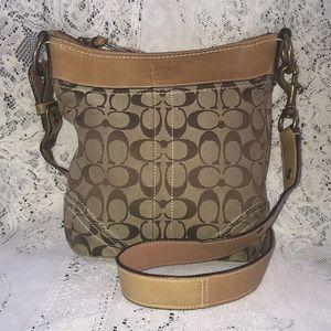 Coach Signature Crossbody Bag